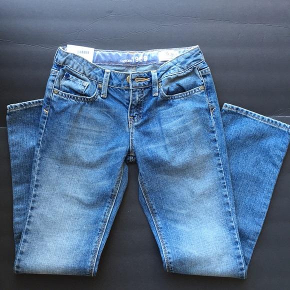 GAP Other - Gap kids girls denim jeans pants 10 new NWT